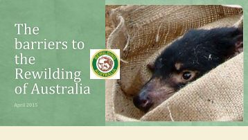 Rewilding_ Australia