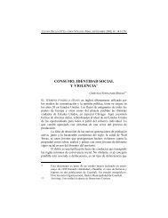 CONSUMO, IDENTIDAD SOCIAL