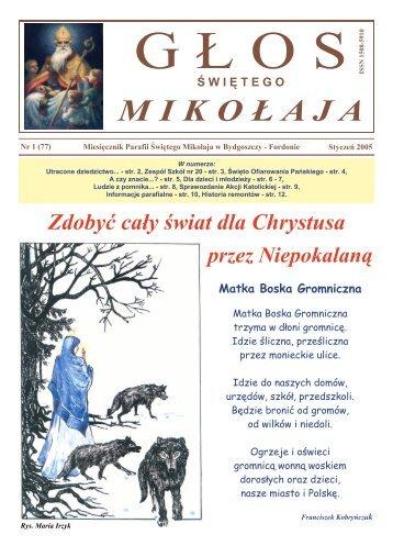 Nr 77 - styczeń - Parafia pw. św. Mikołaja w Bydgoszczy