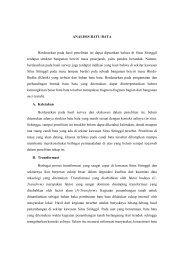 ANALISIS BATU BATA Berdasarkan pada hasil penelitian ini dapat ...