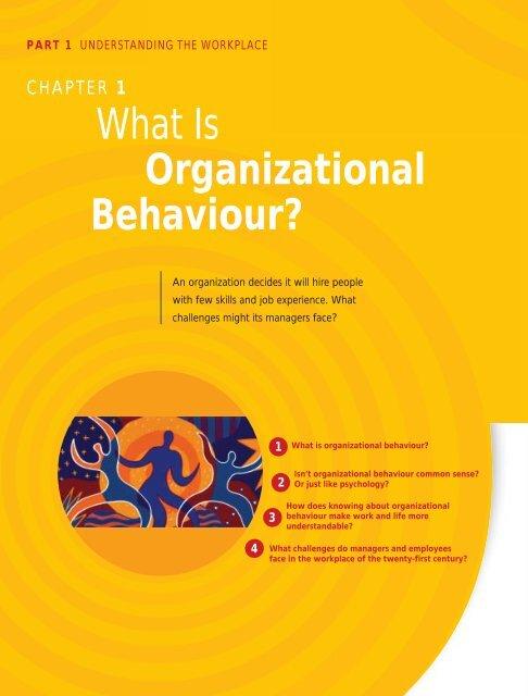 Organizational Behavior Stephen Robbins