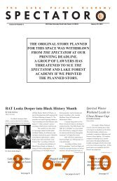 BAT Looks Deeper into Black History Month - Lake Forest Academy