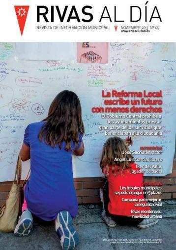 Rivas Al Día Nº 127 Noviembre 2013 - Ayuntamiento Rivas ...