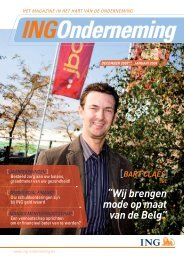 INGOnderneming - ING Belgium