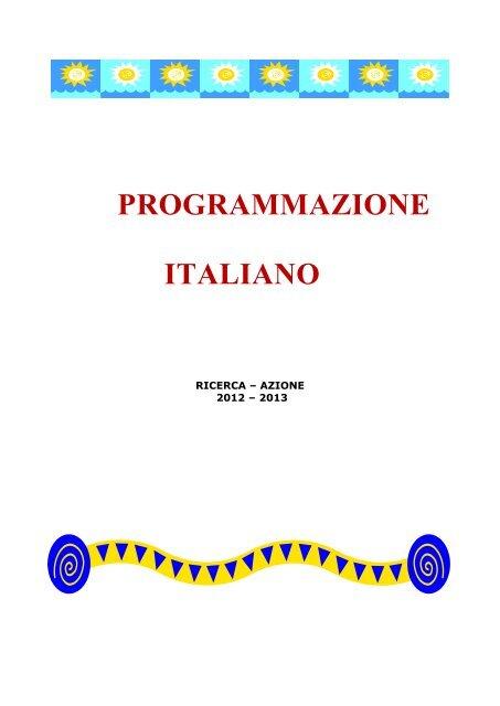 Programmazione Italiano Pdf