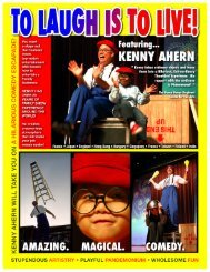 Kenny Ahern Sell Sheet