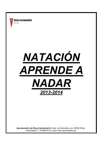 Natación Aprende a Nadar - Ayuntamiento Rivas Vaciamadrid