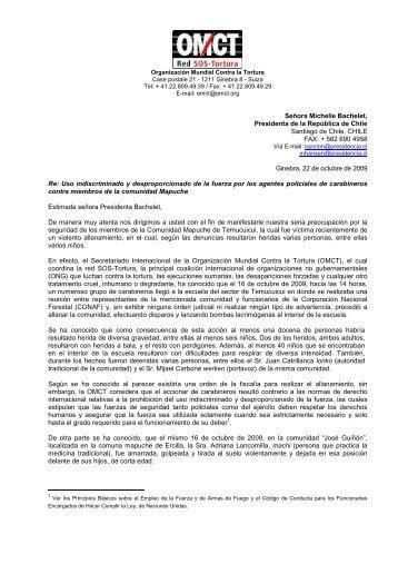 organizacion mundial contra la tortura (omct)