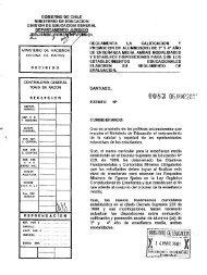 Decreto Exento 83, de 2001, aprueba el Reglamento sobre ...