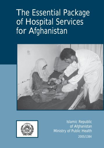 The Essential Package of Hospital Services for Afghanistan