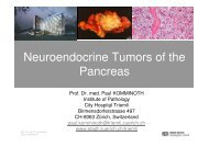 Neuroendocrine Tumors of the Pancreas