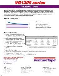 VG1200 series - Venture Tape