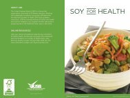 SoY HEALTH - SoyConnection.com