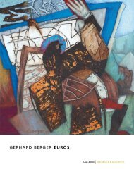 GERHARD BERGER euros - GALERIE Michael Radowitz