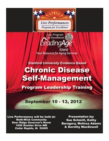 Chronic Disease Self-Management - Iowa Association of Homes ...