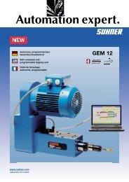 Produkte Broschüre - Suhner Automation Expert