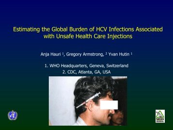 Estimating the Global Burden of HCV Infections ... - Digicollection.org