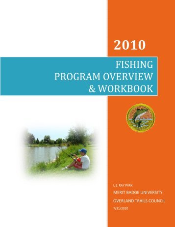fishing program overview & workbook - Overland Trails Council