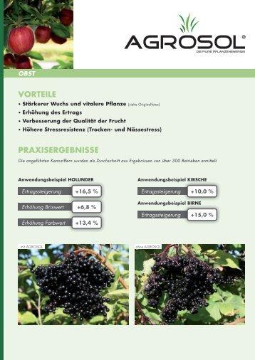 AGROSOL Obst - AGROsolution