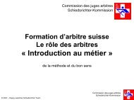 Formation arbitre Cours 1 Intro_F.pdf - swissrowing-umpire.ch