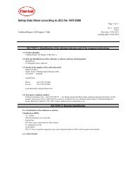 safety data sheet unibond repair all purpose power ... - Toolbank
