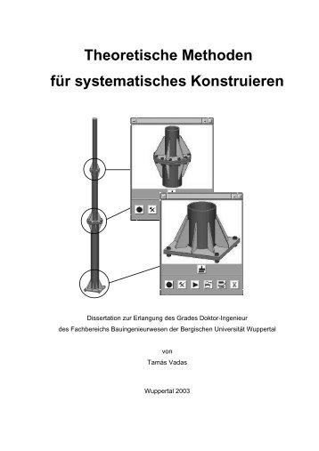 Theoretische Methoden für systematisches Konstruieren