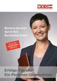 Erfolgs-Tipps für Ein-Personen-Unternehmen - Wirtschaftskammer ...