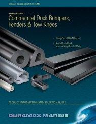 Commercial Dock Bumpers, Fenders & Tow Knees - European Marine