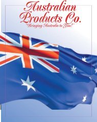 """Bringing Australia to You!"" - Australian Products Co."