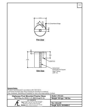 Bases (MMCD) - Armtec