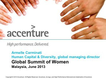 Armelle Carminati - GlobeWomen
