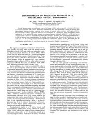 Discriminability of Prediction Artifacts in a Time-Delayed Virtual ...
