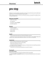 pro-step W - Butech