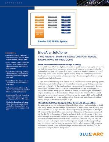 BlueArc® JetClone™ - Moderntech.com.hk