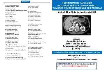 Tumores neuroendocrinos de páncreas