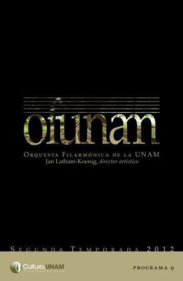 Descargar Programa completo - Música UNAM