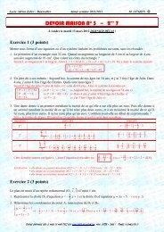 Ouvrir le DM n° 3 - CAPES de Maths