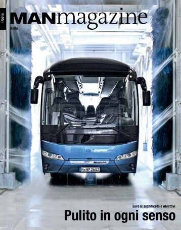 MANmagazine Bus Italia 1/2014