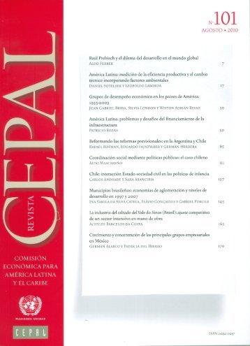 Revista CEPAL Nº101