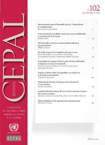 Revista CEPAL Nº102