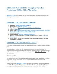OFFLINE+PLR+VIDEOS.pdf