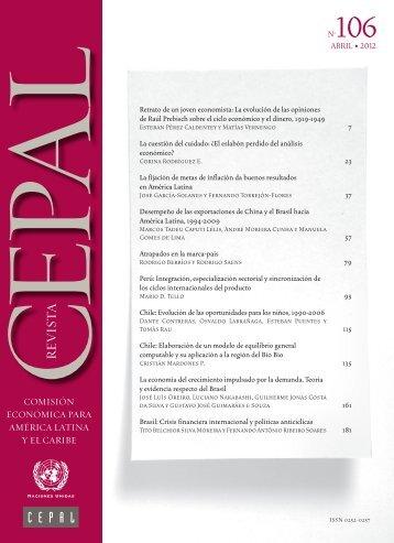 Revista CEPAL Nº106