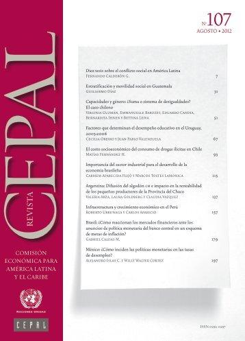 Revista CEPAL Nº107