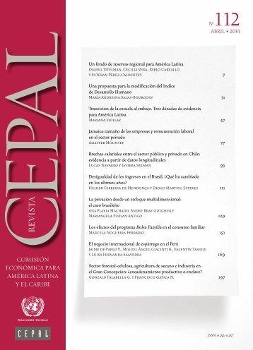Revista CEPAL Nº112