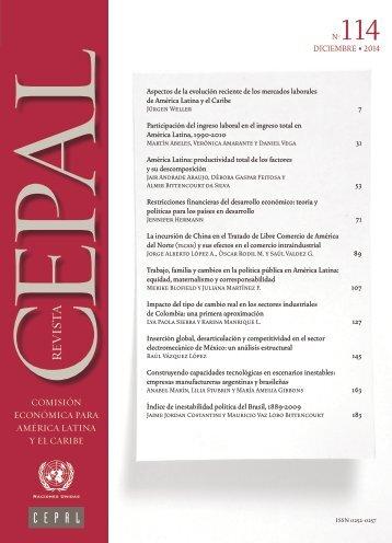 Revista CEPAL Nº114