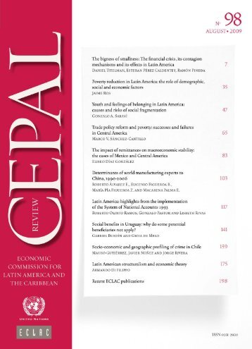 CEPAL Review Nº98