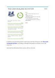 Cash Avalanche System  review-Cash Avalanche System  (MEGA) $21,400 bonus