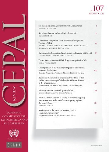 CEPAL Review Nº107