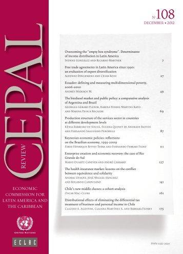 CEPAL Review Nº108