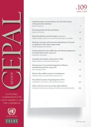CEPAL Review Nº109